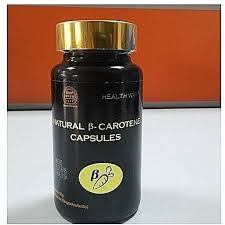Natural Beta Carotene Capsules