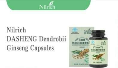 Nilrich Dendrobii Ginseng Capsules