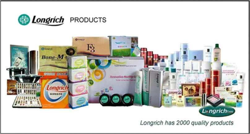 Longrich Products and their uses